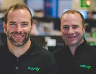 Ryan (left) and Rob Weber, cofounders of NativeX.